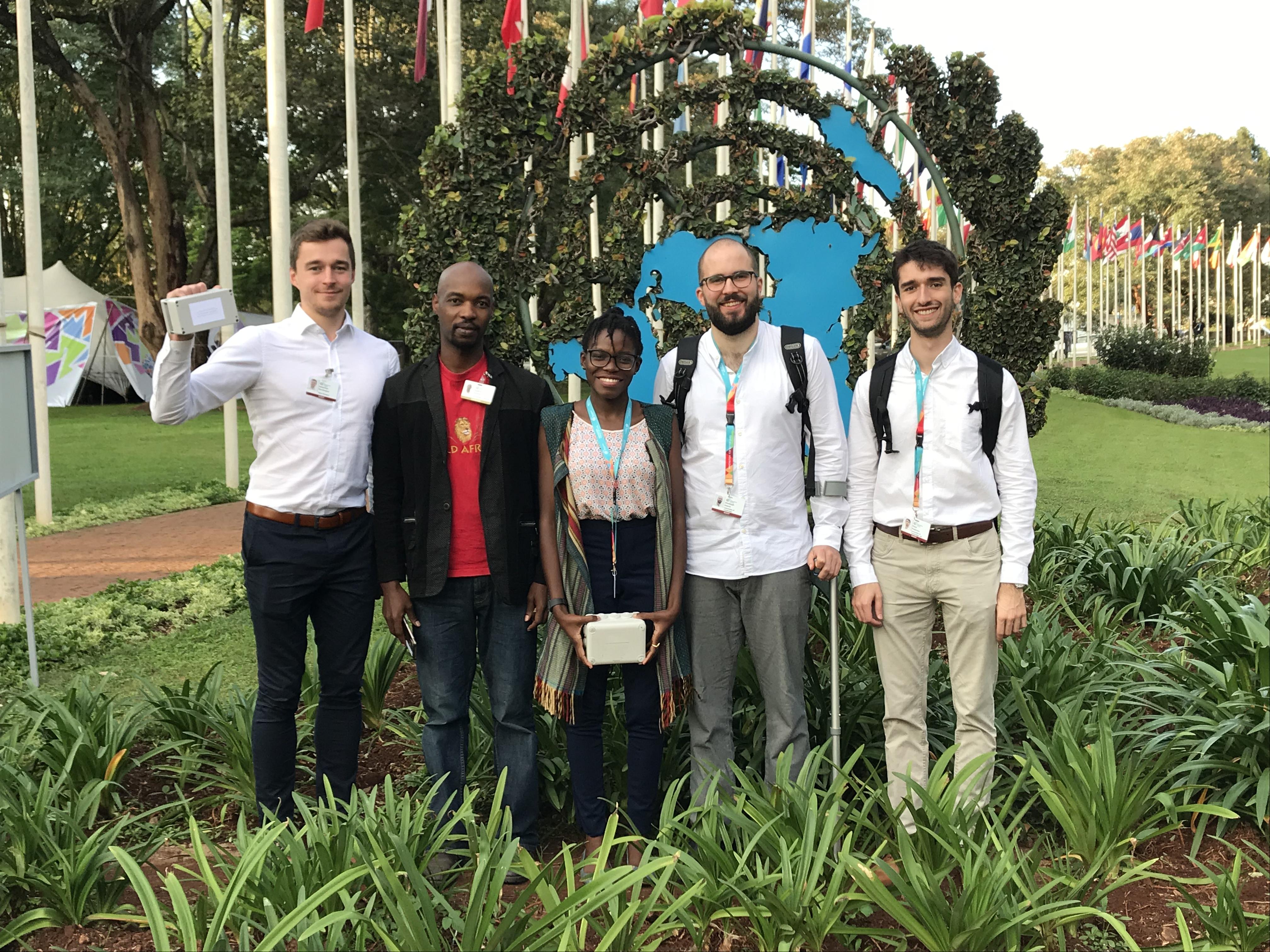 The open-seneca team in Nairobi