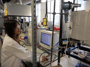 Biotech lab