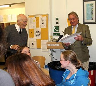 Prof John Davidson and Prof Howard Chase