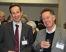 Dr Patrick Barrie and Prof Chris Lowe