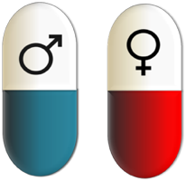 This may imply that different treatments are needed for male and female patients