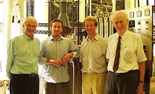 Allan, Andrew Harris, John Dennis and John Davidson