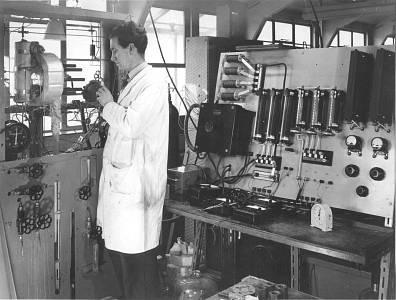1950s lab work