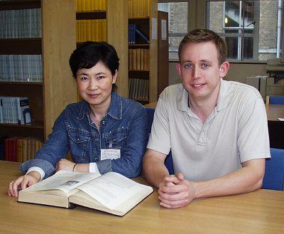 Binjie Hu and Mike Goodson