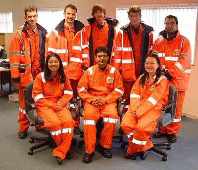 The team at BP, Hull