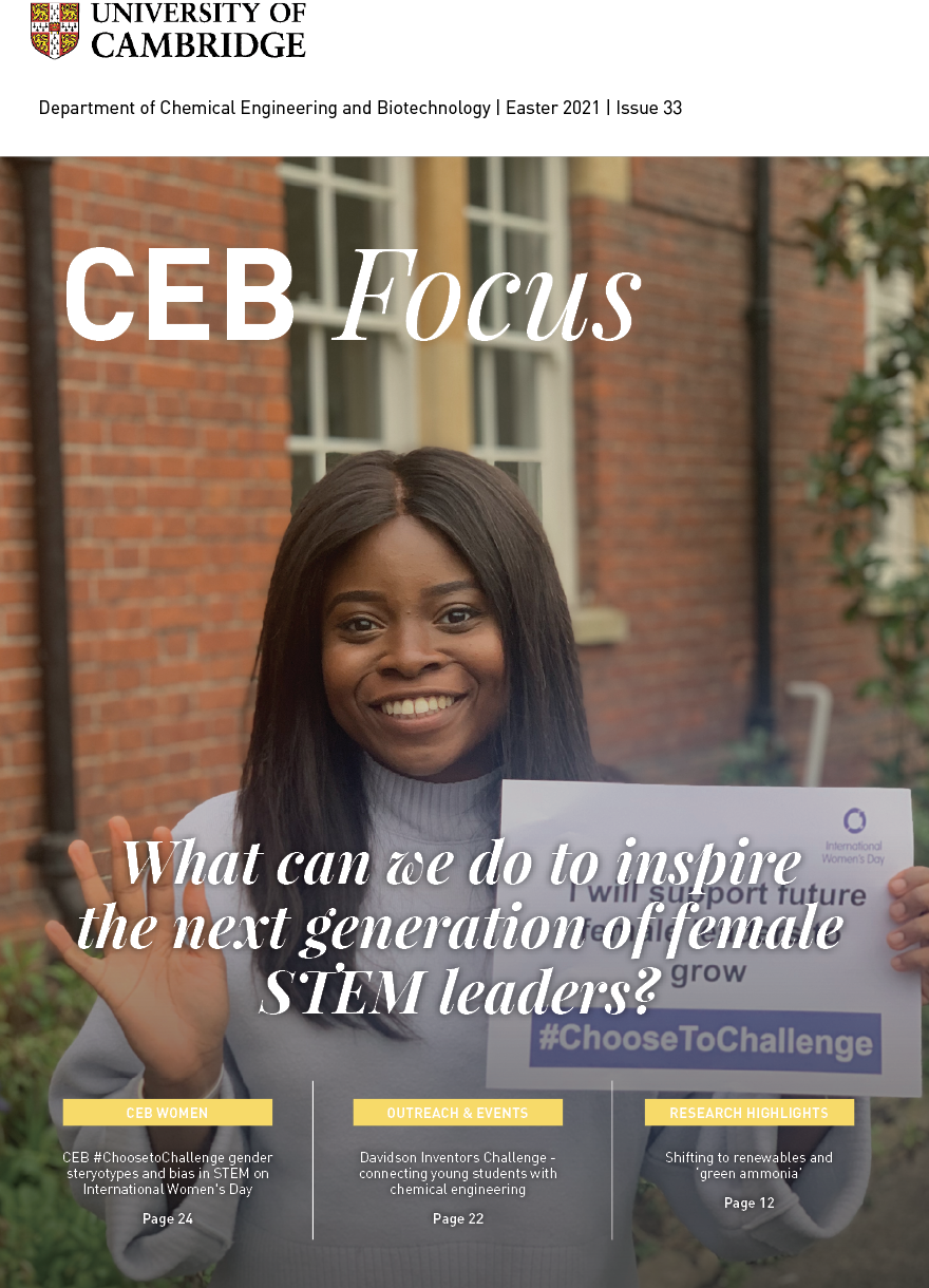 CEB Focus June 2021 issue front cover