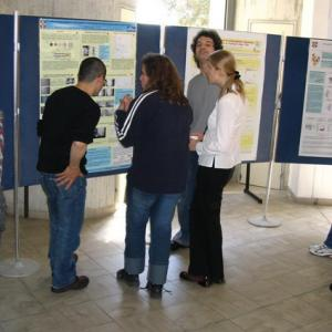 The poster session at cemef