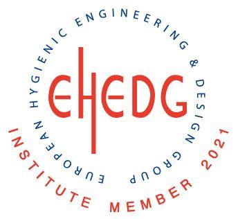 European Hygienic Engineering & Design Group EHEDG Institute Member 2021 logo