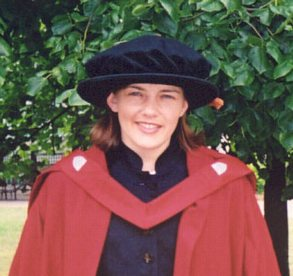 photo of Fiona at her  graduation