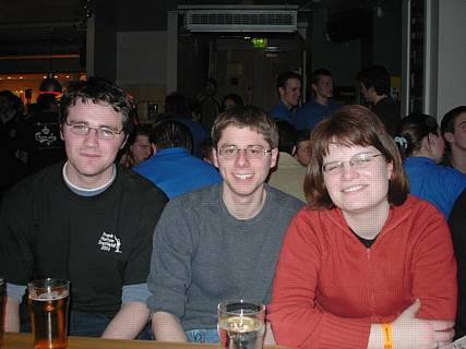 Photo of the pub quiz team