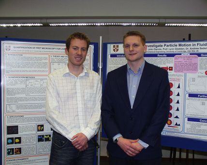 photo at poster session