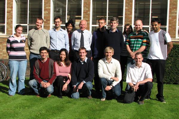 Polymer Fluids Group photograph 2008
