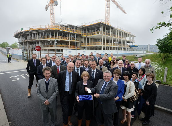 Topping out ceremony 27 May 2014