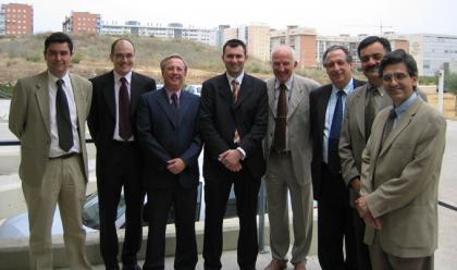 The jury for Moises Morelles Garcia's PhD
