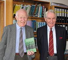 Prof John Davidson and Sir David Harrison on the 50th anniversary of their pioneering book