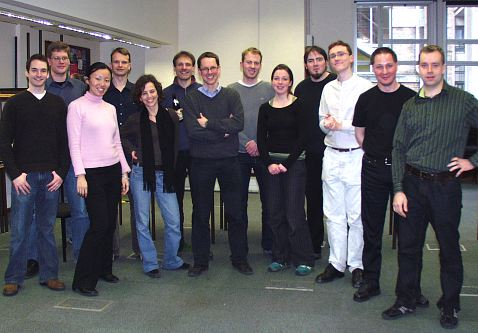 The laser group