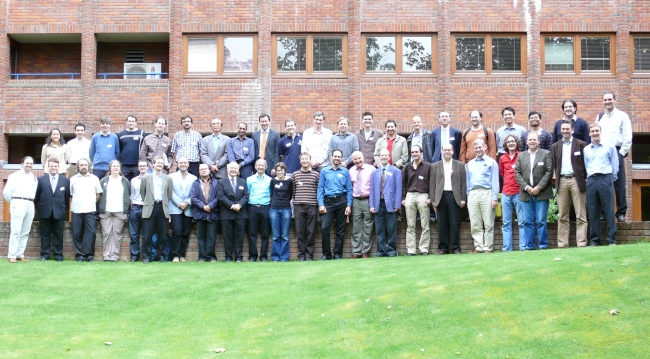 Delegates at the muPP2 meeting