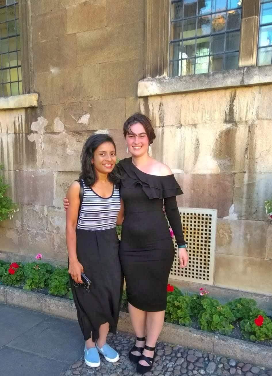 Nisha Gangadharan and Jeanet Mante