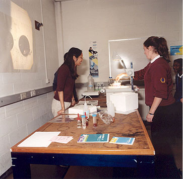 photo of an experiment