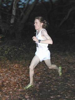 photo of Rowan running