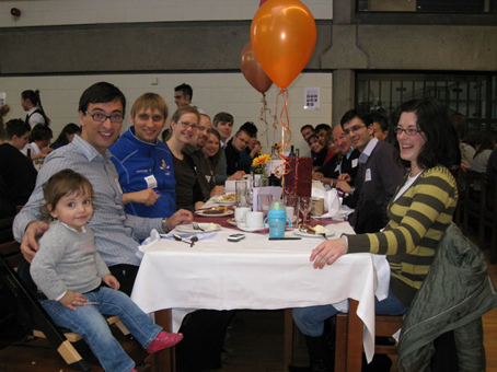 PFG and the Graduate Centre Thanksgiving meal