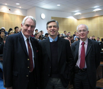 Sir David Harrison, Dr Des King and Dr David Brown