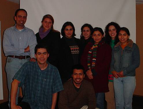 Dr Vassiliadis and the group