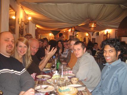 Members of the PFG at the Christmas social