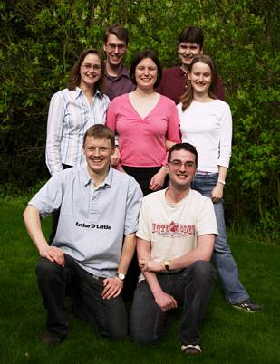 photo of the team