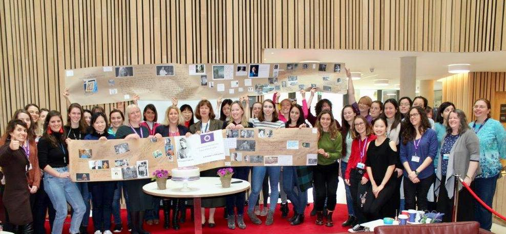 International Women's Day celebration at CEB