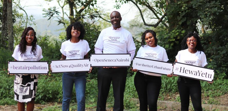Open-seneca team from Nairobi Makespace