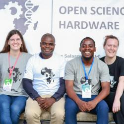 Open Bioeconomy team at a conference in Africa