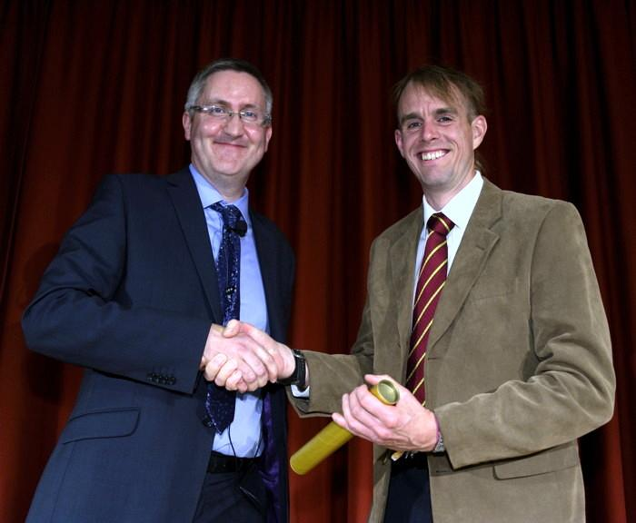 Bart Hallmark awarded Pilkington Prize