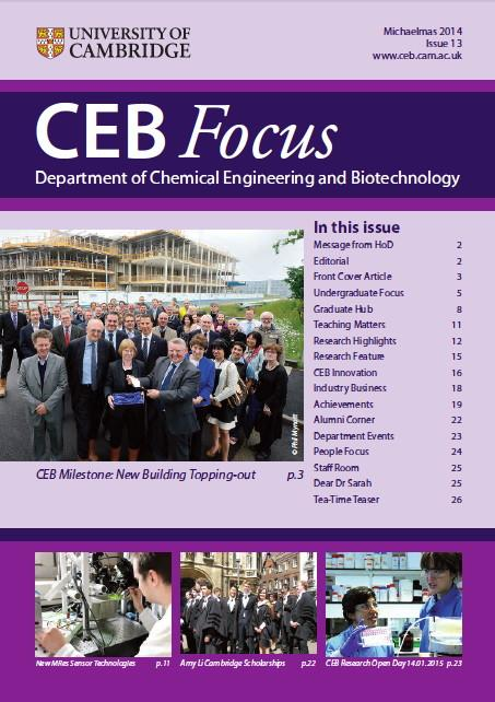 Latest issue of the department newsletter