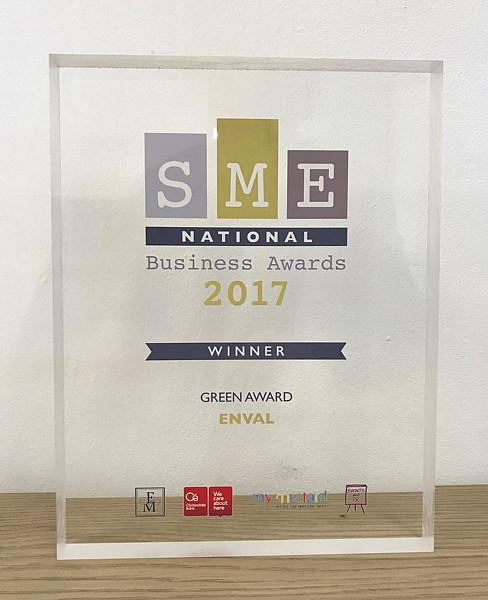 Enval recognised at national level