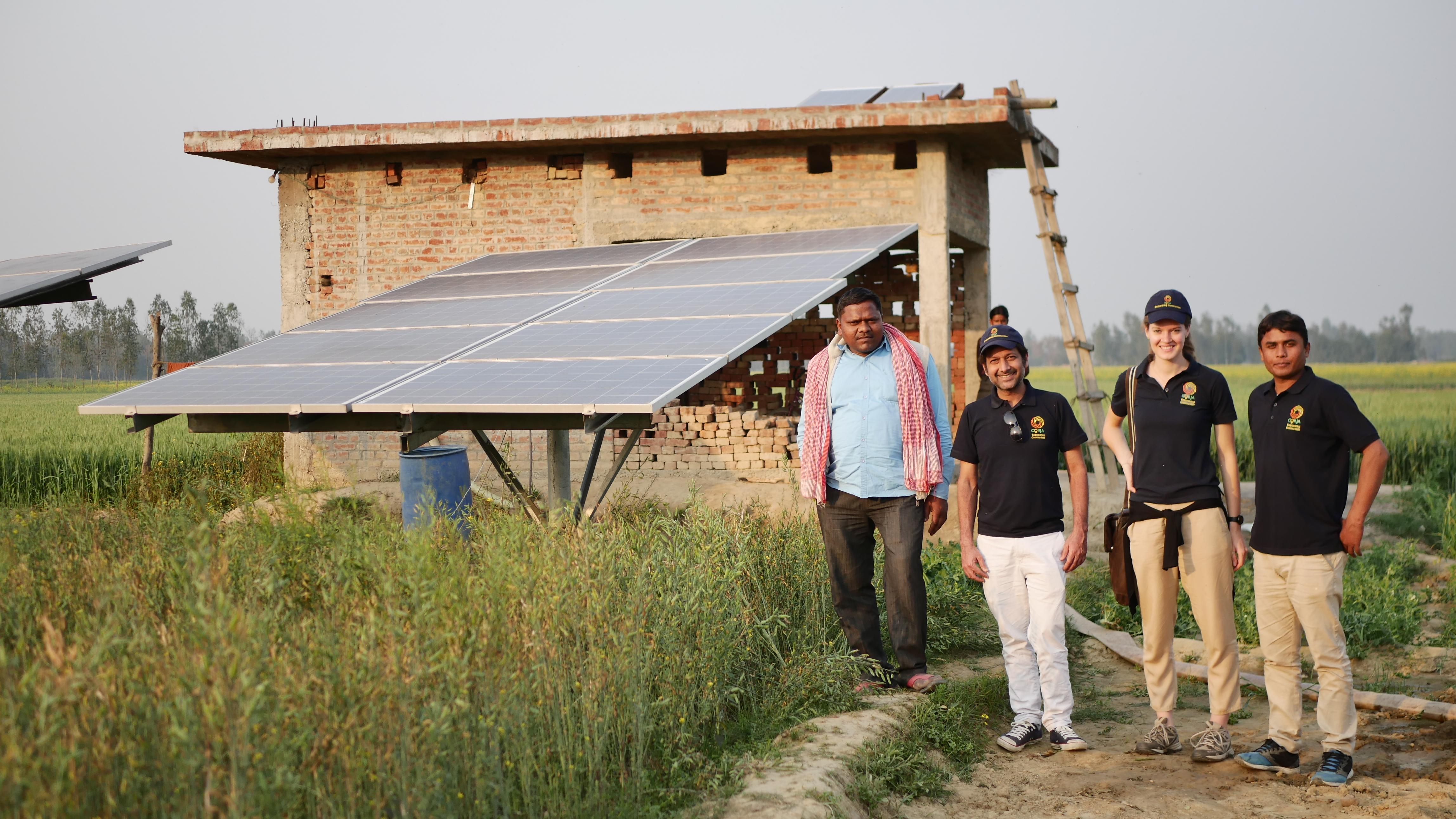 Solar irrigation solutions for smallholder farmers in India