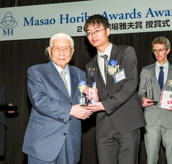 Dr. Weiwei Cai awarded prestigious Masao Horiba Award